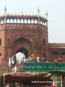 Jama Masjid-close up