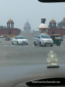 The Rajpath-a distant view