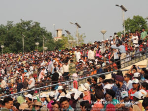 Crowd sitting-Attari
