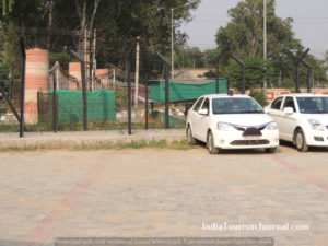 Car Parking at the Attari Border