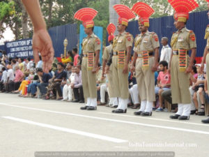 Parade at Attari
