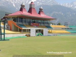 Cricket Stadium at Dharamsala
