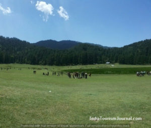Khajjiar Lake view